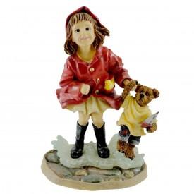 Yesterdays Child Dollstone Brooke With Joshua #3551 Figurine