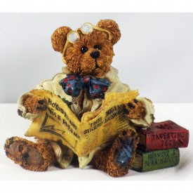 Boyds Bears Bearstone Resin Figurine Dean Newbearger III Bears & Bulls