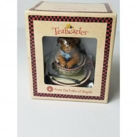 "Boyds Teabearies Figurine - F.F. - ""Best Friends Are Lifesavers"""