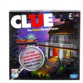 Clue Game 2013 Edition Includes 2 Versions: The Mansion Game and the Boardwalk Game