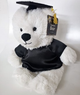 "Graduation Teddy Bear Cap & Gown 14"" Super Soft Plush Grad Gift"