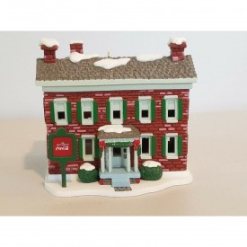 Trim A Tree Coca-Cola Historic Buildings Ornament Pemberton House
