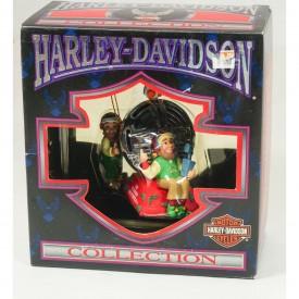 1997 Harley Davidson Christmas Ornament Horn Testing Area