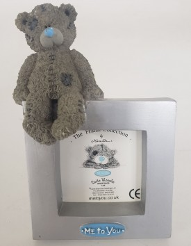 """Carte Blanche Greetings """"Me To You"""" Teddy Bear Photo Frame 2-inch x 2-inch"""
