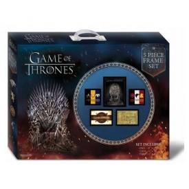 Game of Thrones 5 Piece Framed Set