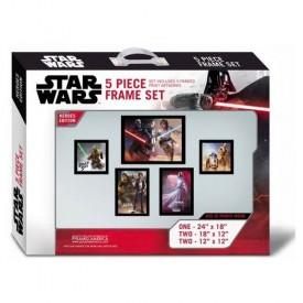 Star Wars Heroes 5 Piece Framed Set