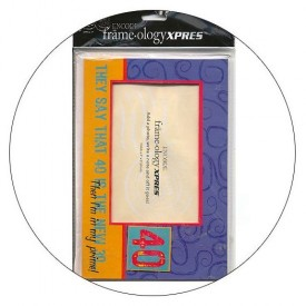 Frameology Picture Frame Mailer with Envelope - 40 is the New 30