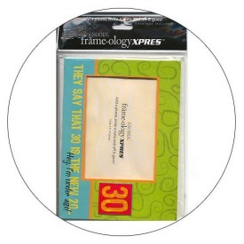 Frameology Picture Frame Mailer with Envelope - 30 is  the New 20!