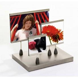 Umbra Annex 4-Piece Magnetic Frame Set, Flat Base