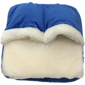 Foot Massager Blue with White Trim
