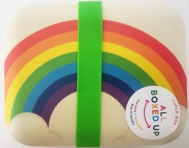 All Boxed Up Eco Friendly Lunch Box - Rainbow