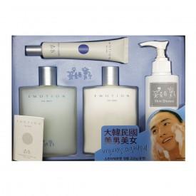 Emotion For Men Shave & Face Lotion Skin Care 4 Piece Set
