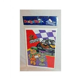 """Vintage 1997 Cartoon Network Wacky Racing Flintstones Scooby 6.5"""" x 9"""" 8ct Party Bags"""