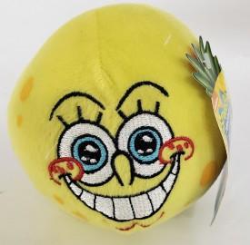 """2013 Nickelodeon SpongeBob SquarePants 5"""" Round Ball Plush by Nanco"""