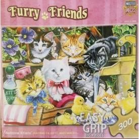 Furry Friends - Bathtime Kittens 300 Piece Jigsaw Puzzle