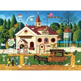 Buffalo Games - Charles Wysocki - The Bird House - 300 Piece Jigsaw Puzzle, Model:92600