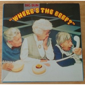 Vintage 1984 Wendy's Where's The Beef?  Advertising Jigsaw Puzzle 550 Piece