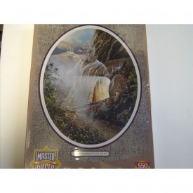 Masterpiece Jigsaw Puzzle 550 Pieces 18 Inch x24 Inch -I Am The Resurrection