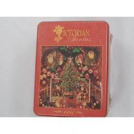 Victorian Santa's 500 Piece Puzzle 1995 Springbok XZL2500