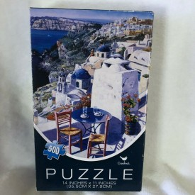 500 Piece Jigsaw Puzzles Table for Two with Ocean View