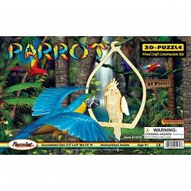 3D Puzzles - Parrot