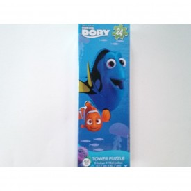 Finding Dory Tower Puzzle 24 Pieces Ages 5+ 18.8 x 5 Inches