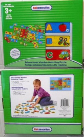 Kid Connection Educational Wooden Matching Puzzle