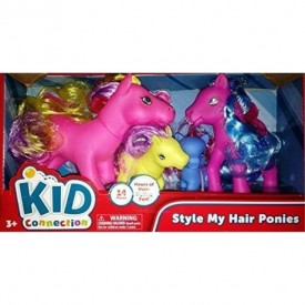 Kid Connection Style My Hair Ponies 14 Pieces