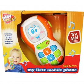 My First Mobile Phone (Bilingual) by Play Right