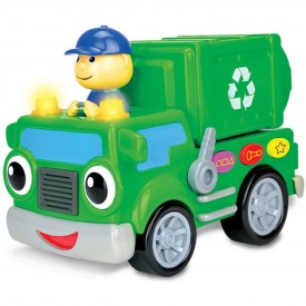 The Learning Journey Early Learning – On The Go Recycle Truck – Baby and Toddler Toys & Gifts for Boys & Girls Ages 18 months and Up – Award Winning Toy