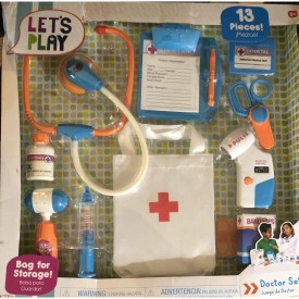 Doctor Play Set 13 Pieces