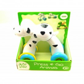 Press & Go Animals by Just Kidz Dalmatian Dog Ages 18 months and up