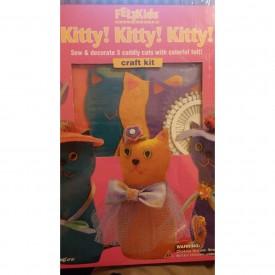 Felt Kids Kitty! Kitty! Kitty! Craft Kit