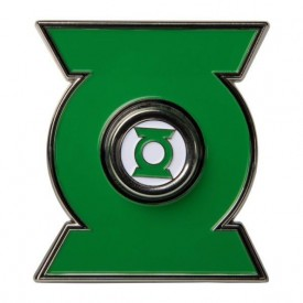 FOCO Diztracto Spinnerz Green Lantern Ring Collectible w Floating Display Case