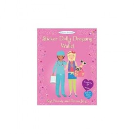 Sticker Dolly Dressing Wallet Best Friends and Dream Jobs