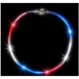 "22"" Light-up Patriotic Necklace"