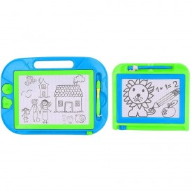 Just Kidz Magnetic Drawing Boards 2 (Blue and Green)