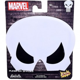 Sunstaches Marvel The Punisher Character Sunglasses, Party Favors, UV400