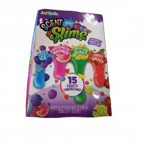 Art Skills Scent Your Slime 15 Fruity Combinations