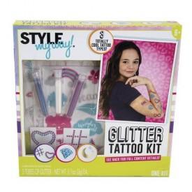 Style My Way Glitter Tattoo Kit