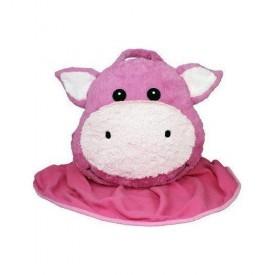 Intelex Pig Pillow Huggeez Huggable Blanket