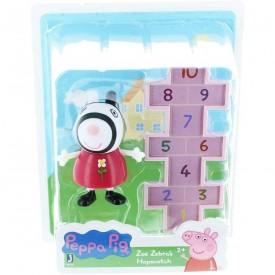 Peppa Pig Friends and Fun Zoe Zebras Hopscotch Toy Figure