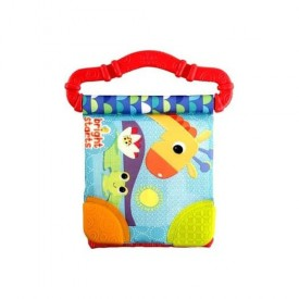Bright Starts 8475 Teether Book New Teethe & Read - Red 074451084759