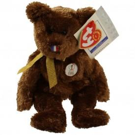 Ty Beanie Babies - Champion the Soccer Bear (France)