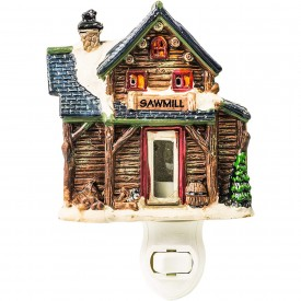 Sawmill Porcelain Night Light