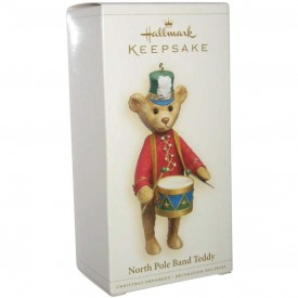 Hallmark Keepsake Ornament - North Pole Band Teddy 2006 (QXG3026)