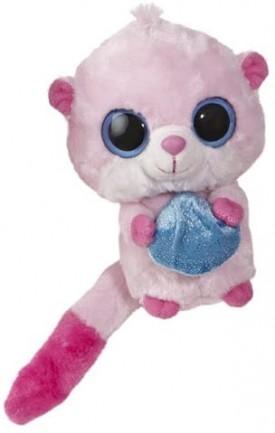 "The Original Yoohoo & Friends Secret Sounds 5"" Mini Plush - Shimeree Pink #29013"