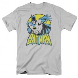 DC Comics Batman Short Sleeve Graphic T-shirt Adult Size Large Grey