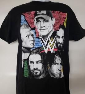 WWE John Cena Official Licensed Graphic Short Sleeve T-shirt Size L Black