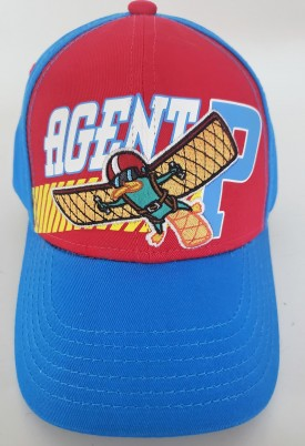 Phineas and Ferb Agent P Adjustable Adult Baseball Cap Hat Snapback Curved Bill Blue